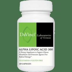 DaVinci Labs Alpha Lipoic Acid 300 60 vegcaps ALA300
