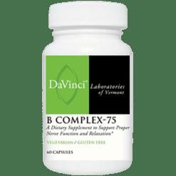 DaVinci Labs B Complex 75 60 caps BCO40