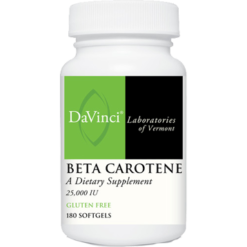 DaVinci Labs Beta Carotene 25000 IU 180 softgels BET44
