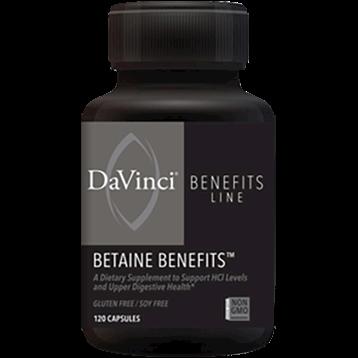 DaVinci Labs Betaine Benefits 120 caps DV7438