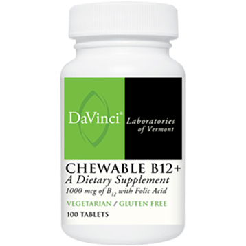 DaVinci Labs Chewable B12 100 vtabs SUBL2
