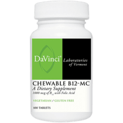 DaVinci Labs Chewable B12 MC 100 vtabs SUBL3