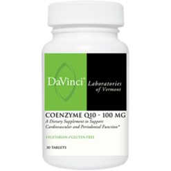 DaVinci Labs CoEnzyme Q10 100 mg 30 tabs CO151