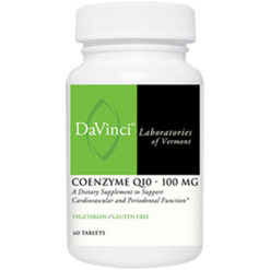 DaVinci Labs CoEnzyme Q10 100 mg 60 vtabs CO152