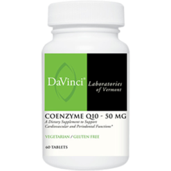 DaVinci Labs CoEnzyme Q10 50 mg 60 vtabs CO156