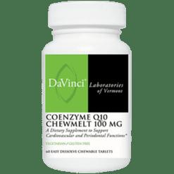 DaVinci Labs CoEnzyme Q10 Chewmelt 100 mg 60 chew CO157