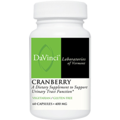 DaVinci Labs Cranberry 400 mg 60 caps CRA36