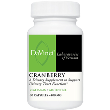 DaVinci Labs Cranberry 400 mg 60 caps CRA36