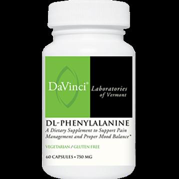 DaVinci Labs DL Phenylalanine 750 mg 60 vegcap DLPH3