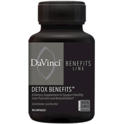 DaVinci Labs Detox Benefits 90 caps DV7667