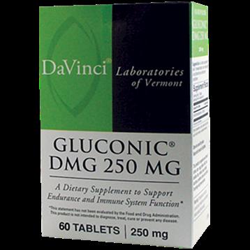 DaVinci Labs Gluconic® DMG 250 mg 60 tabs GL188