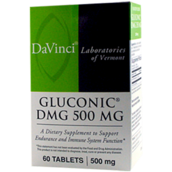 DaVinci Labs Gluconic DMG 500 mg 60 chews GL191