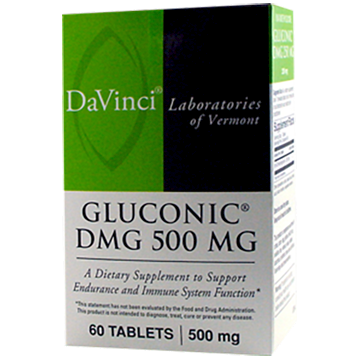 DaVinci Labs Gluconic DMG 500 mg 60 chews GL191