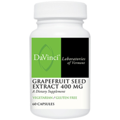 DaVinci Labs Grapefruit Seed Extract 400 mg 60 vcaps D17660