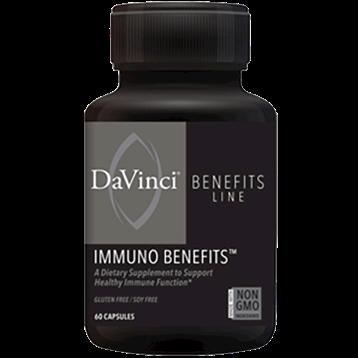 DaVinci Labs Immuno Benefits 60 caps DV5441