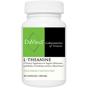 DaVinci Labs L Theanine 200 mg 30 vcaps LTHE1