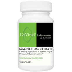 DaVinci Labs Magnesium Citrate 90 vcaps MA101