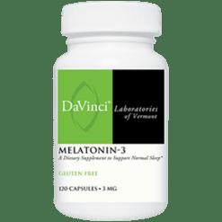 DaVinci Labs Melatonin 3 3 mg 120 caps MEL53