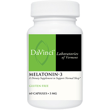 DaVinci Labs Melatonin 3 3 mg 60 caps MEL52