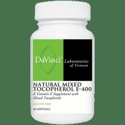 DaVinci Labs Nat. Mixed Tocopherol E 400 60 softgels D16168