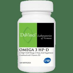 DaVinci Labs Omega 3 HP D 120 gels OME39