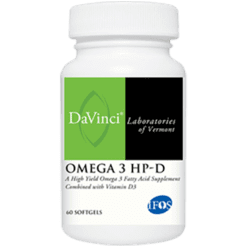 DaVinci Labs Omega 3 HP D 60 gels OME38