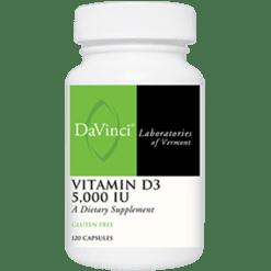 DaVinci Labs Vitamin D3 5000 IU 120 caps VID16