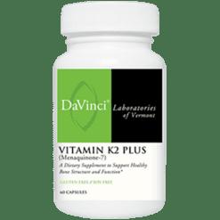 DaVinci Labs Vitamin K2 Plus Menaquinone 7 60 caps VIK3