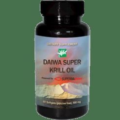 Daiwa Health Development Super Krill Oil 60 softgels D01079