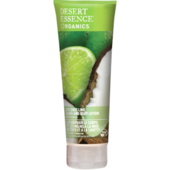 Desert Essence Coconut Lime Hand amp Body Lotion 8 fl oz D37746