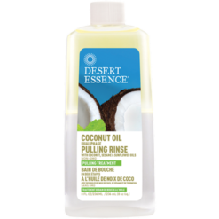 Desert Essence Coconut Oil Pulling Rinse 8 fl oz D34370