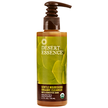 Desert Essence Gentle Nourishing Cleanser Org 6.7 fl oz D22285