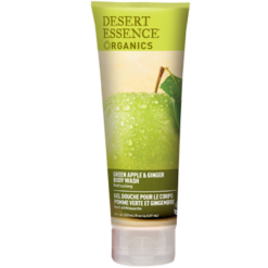 Desert Essence Green Apple amp Ginger Body Wash 8 fl oz D37302