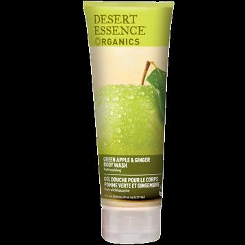 Desert Essence Green Apple amp Ginger Body Wash 8 fl oz D37302