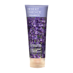 Desert Essence Lavender Hand amp Body Lotion 8 oz D37449