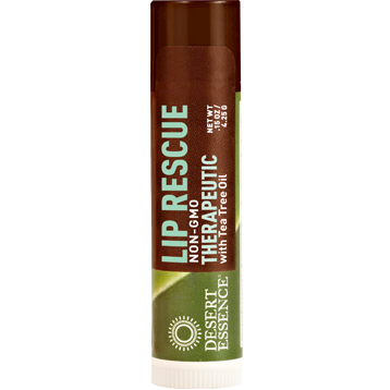 Desert Essence Tea Tree Oil Lip Rescue .15 oz D20413