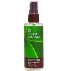 Desert Essence Tea Tree Oil Relief Spray 4 fl oz D21144