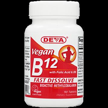 Deva Nutrition LLC Vegan B12 90 tabs D00218