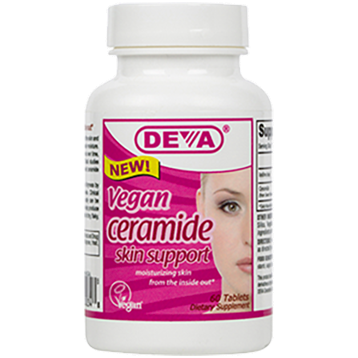 Deva Nutrition LLC Vegan Ceramide Skin Support 60 tabs D00348