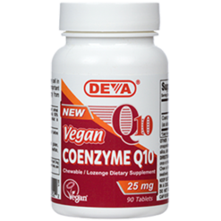 Deva Nutrition LLC Vegan Coenzyme Q 10 25 mg 90 tabs D00041