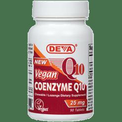 Deva Nutrition LLC Vegan Coenzyme Q 10 25 mg 90 tabs D00041