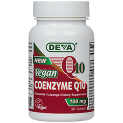 Deva Nutrition LLC Vegan Coenzyme Q10 100 mg 60 tablets D00355