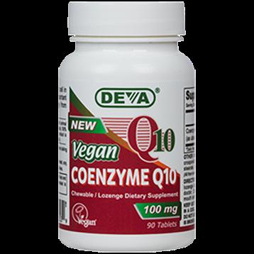 Deva Nutrition LLC Vegan Coenzyme Q10 100 mg 60 tablets D00355