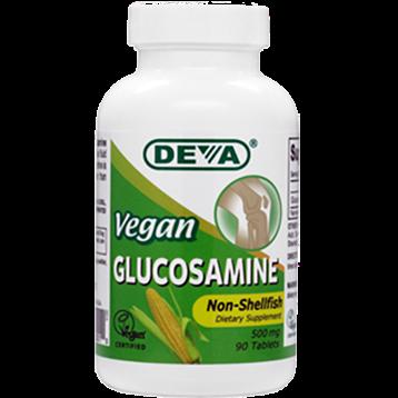 Deva Nutrition LLC Vegan Glucosamine 500 mg 90 tabs D00010