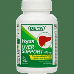 Deva Nutrition LLC Vegan Liver Support 675mg 90 tabs D50008