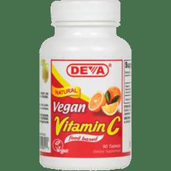 Deva Nutrition LLC Vegan Vitamin C all natural 90 tabs D00317