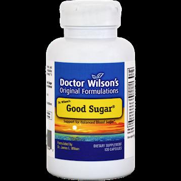 Doctor Wilsons Original Formulations Good Sugar 120 Capsules D01435