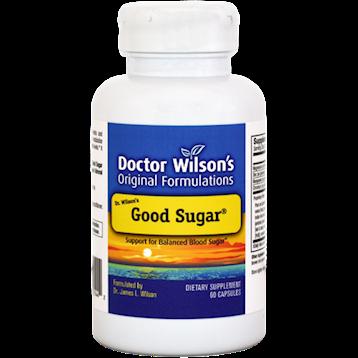 Doctor Wilsons Original Formulations Good Sugar 60 Capsules D01442