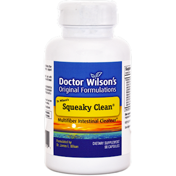 Doctor Wilsons Original Formulations Squeaky Clean 90 vcaps D01121