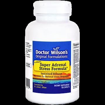 Doctor Wilsons Original Formulations Super Adrenal Stress Formula 150 Caplets D01145